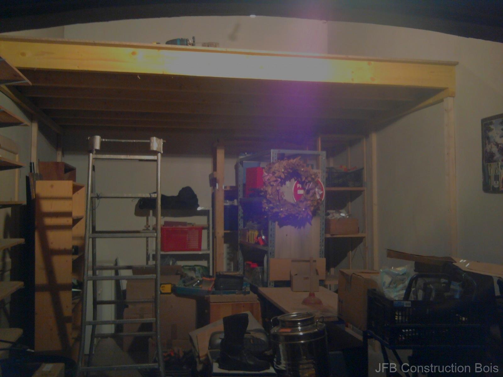 Mezzanine dans un garage - Oraison (04)