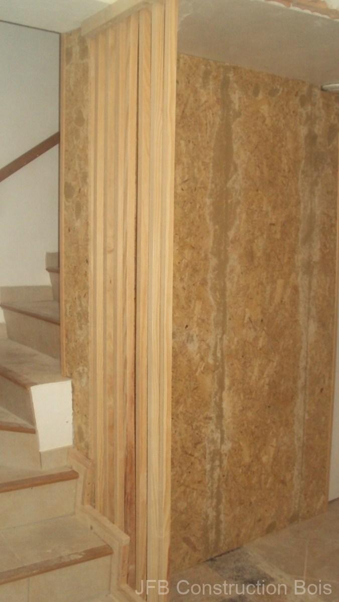Cloison brute et claustra épicéa - Volx (04)