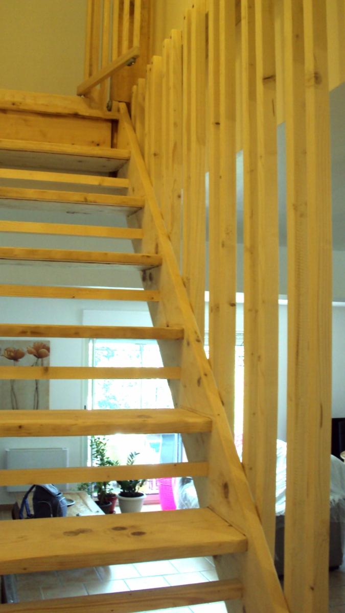 Restauration escalier / Manosque (04)