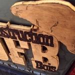 Logo brûlé