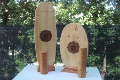 Duo de Planches d'équilibre Épicéa lamellé