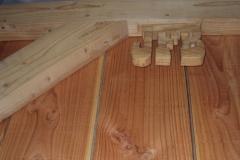 Cabane 20m² sur bâti existant - intérieur - signature / Oraison (04)