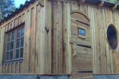 Cabane 20m² sur bâti existant - extérieur / Oraison (04)