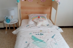Tête de lit douglas / sapin / Volx (04)